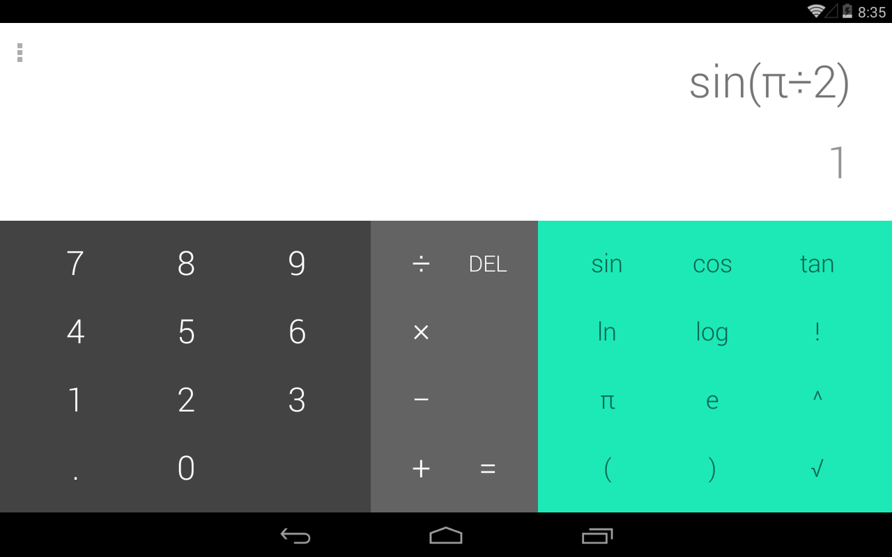 Phone Calculator For Android Phone calculator l android apps on google play screenshot