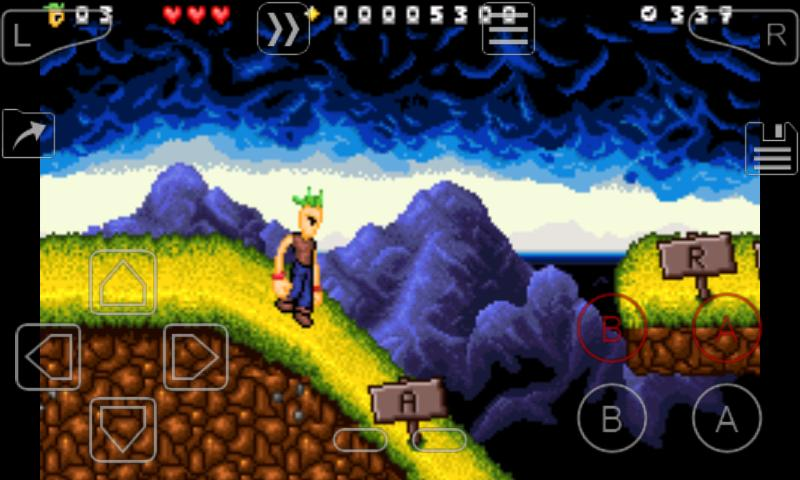 My Boy! Free - GBA Emulator: captura de pantalla