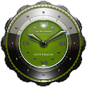 Dragon Clock widget olive icon