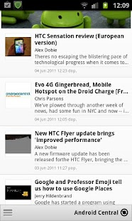 Ultimate Android News - screenshot thumbnail