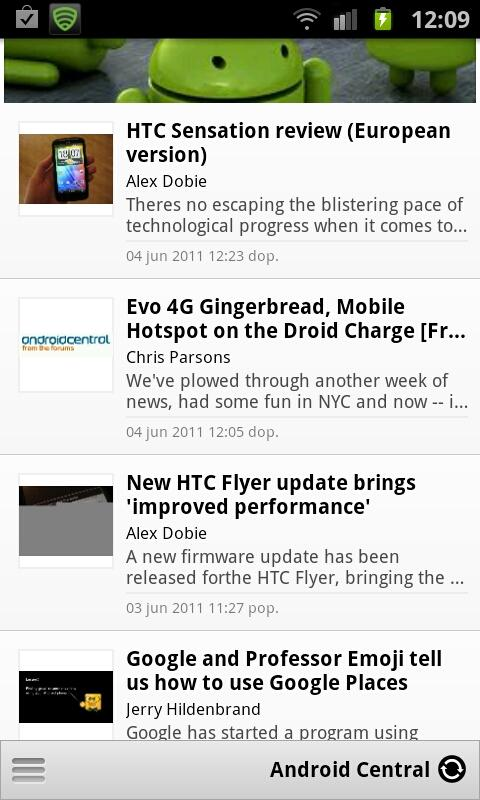 Ultimate Android News - screenshot