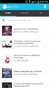 All Events in City - screenshot thumbnail