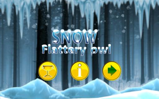 Snow Flattery Owl