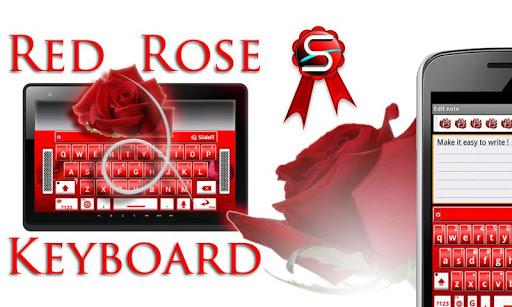 SlideIT Red Rose Skin