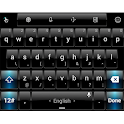 Theme TouchPal Dusk Black Blue