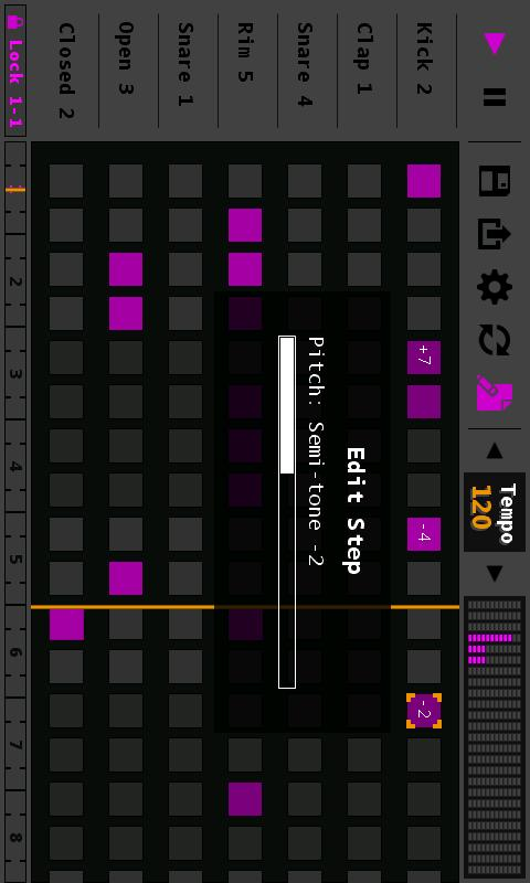 Sequencer- screenshot