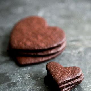 Thin and Crispy Chocolate Cookies.