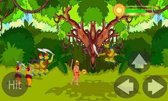 Screenshot of Hanuman the ultimate game