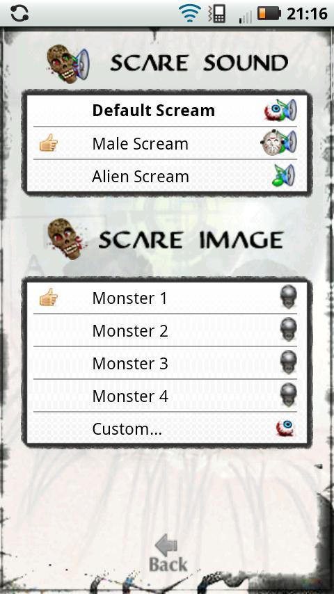 Halloween Scares!- screenshot