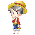 Shimeji - Luffy Doll Live icon