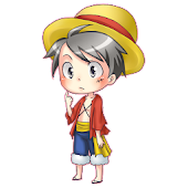 Shimeji - Luffy Doll Live