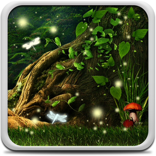 Fireflies Live Wallpaper Icon
