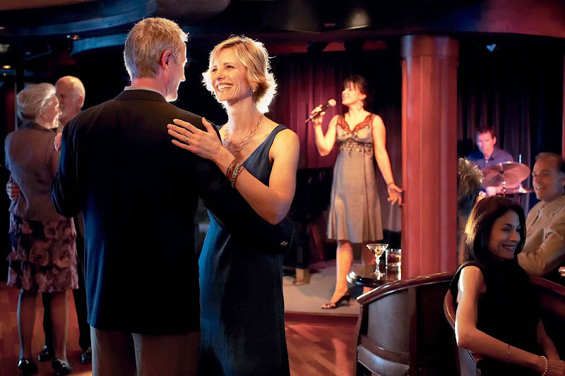 Unwind after hours at the Bayou Cafe and Steakhouse, offering live jazz, drinks and dancing on your Princess cruise