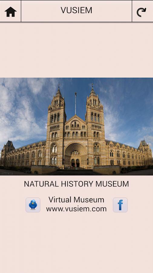 Google Map Natural History Museum London