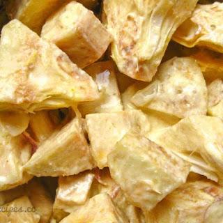 Shahi Enchor Curry (Green Jackfruit curry)