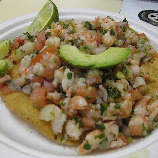 Low Calorie Mexican Ceviche recipe – 181 calories.