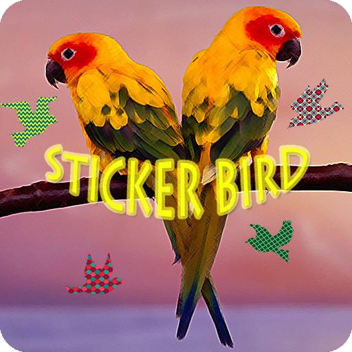 鸟贴纸 攝影 App LOGO-硬是要APP