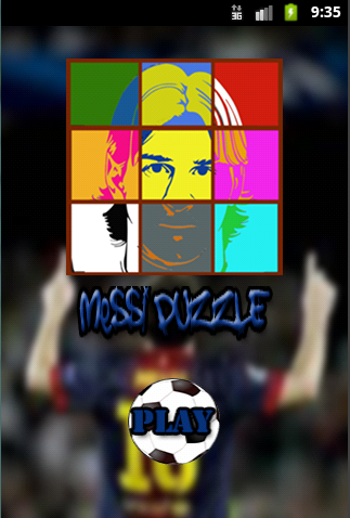 Messi Puzzle Adict - screenshot