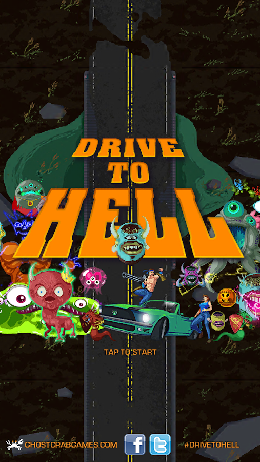 Drive to Hell- screenshot