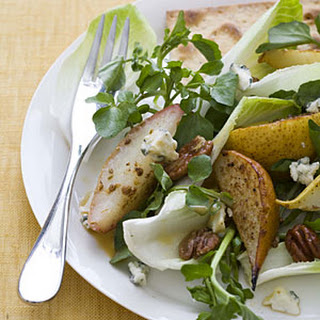 Spiced Pecan and Roasted Pear Salad