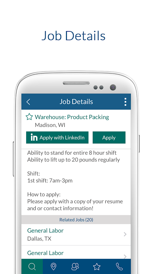 Job Finder from Select Family- screenshot