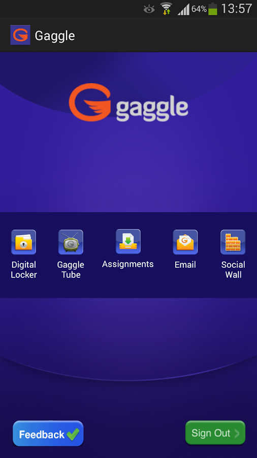 Gaggle- screenshot