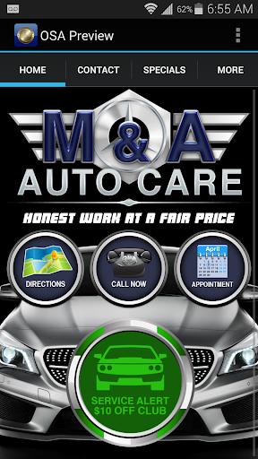 M A Auto Care