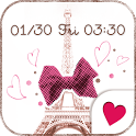 Cute wallpaper★sweet paris icon