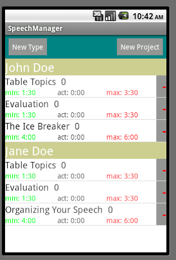 【免費生產應用App】My Speech Manager-APP點子