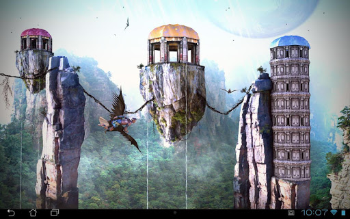 Fantasy World 3D LWP для планшетов на Android