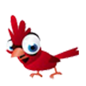 Bird whistle icon
