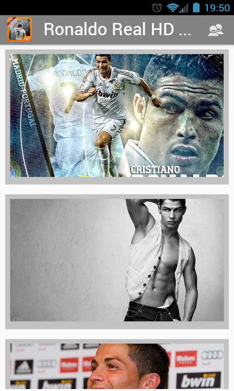 Ronaldo de Real écran HD - screenshot