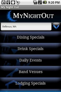 MyNightOut - screenshot thumbnail