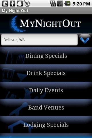 MyNightOut - screenshot