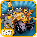 Safari Animals for Kids - Free icon