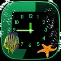 Aquarium Clock widget icon