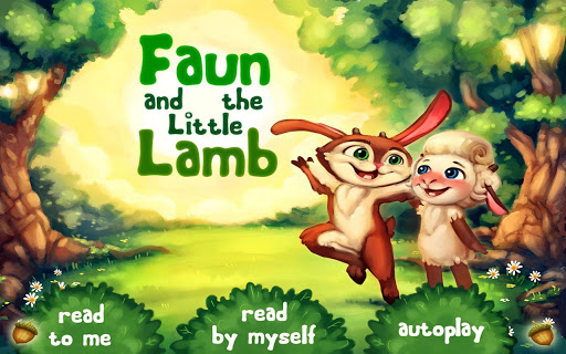 Faun and the Little Lamb