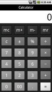 Calculator- screenshot thumbnail