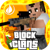 Block Clans -Survival Pixel PE