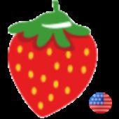 Fruit Dots Card (English)