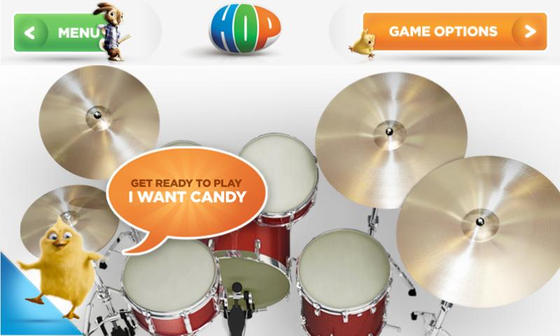 Hop on Drums - screenshot