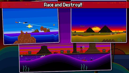 Pixel Boat Rush Screenshot 2
