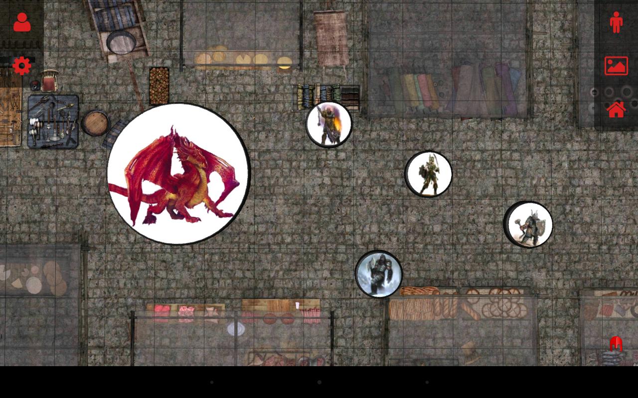 3D Virtual Tabletop - screenshot