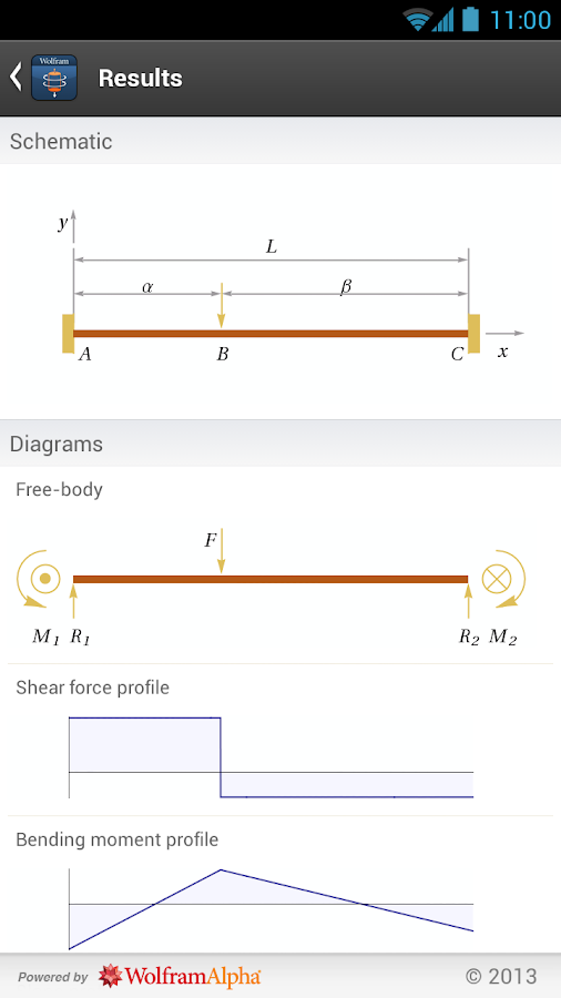 Mechanics of Materials App- screenshot