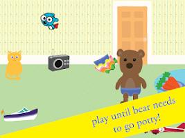 Screenshot of Potty Training Game