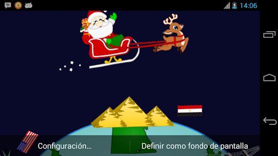 Santa Around the World - screenshot thumbnail
