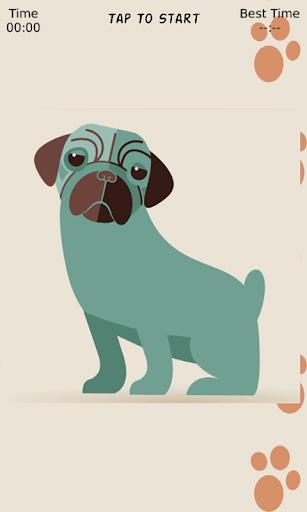 免費解謎App Dog Fun Sliding Puzzle 阿達玩APP