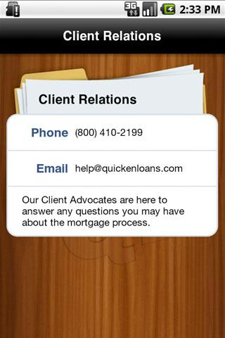My Quicken Loans Mobile - screenshot