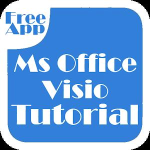 Office Visio Tutorial 程式庫與試用程式 App LOGO-APP試玩