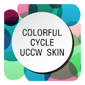 uccw colorful cycle skin icon